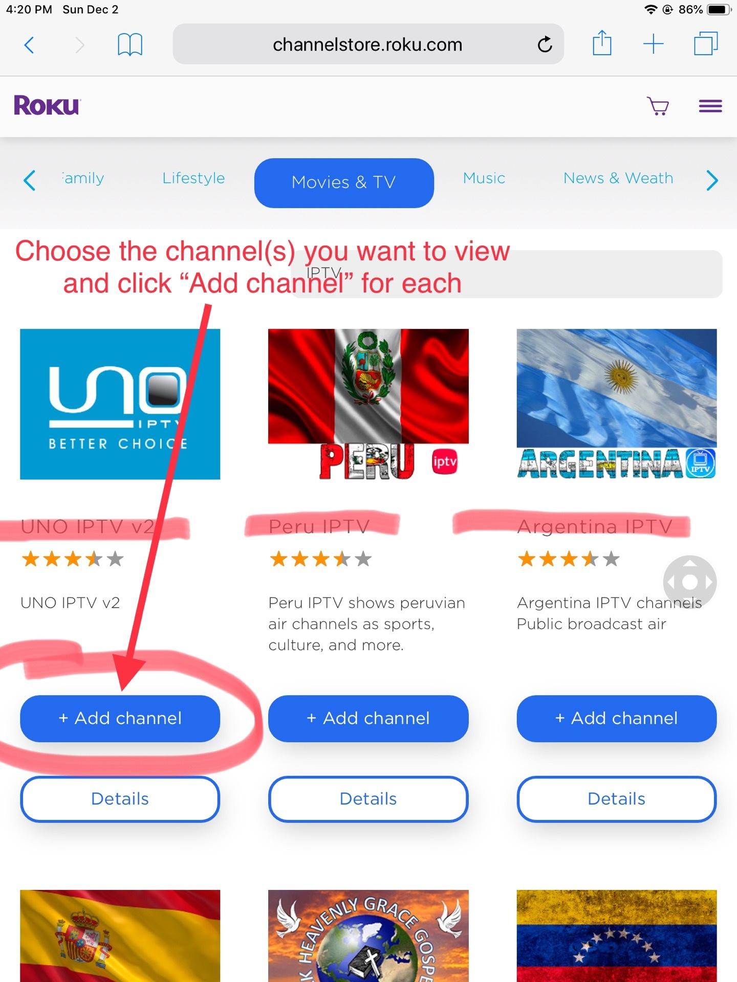 How to add free IPTV to Roku - Quora