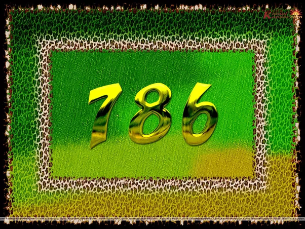 What is the appropriate meaning of 786? - Quora