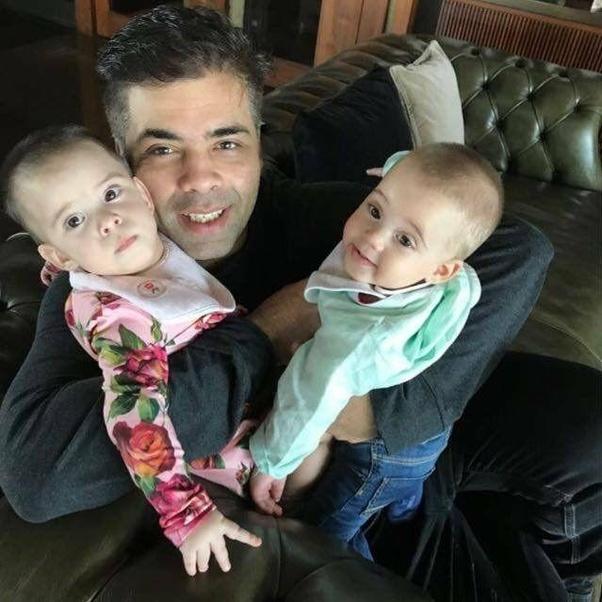 Image result for karan johar babies