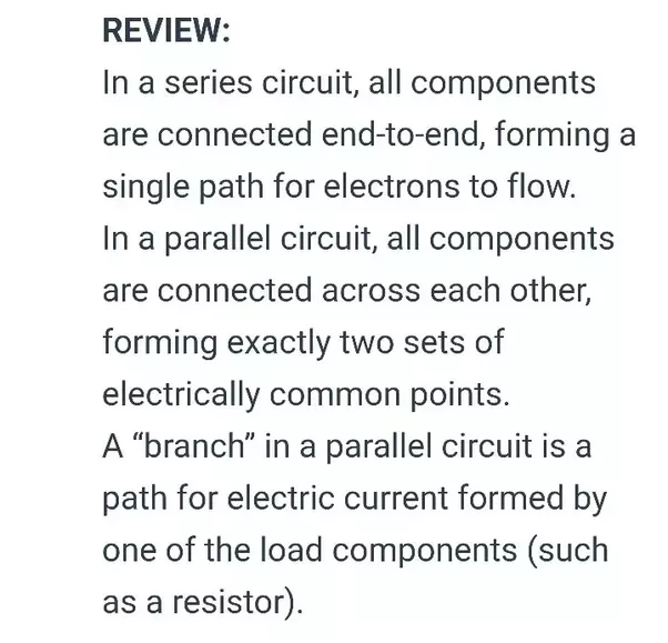 how to tell whether resistors are in series or parallel