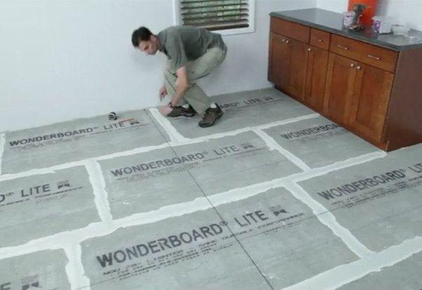 flooring start grid section chalk lay line tiling each