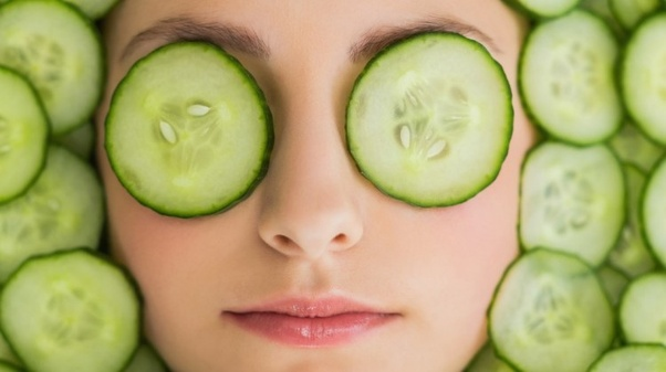 cucumber for face