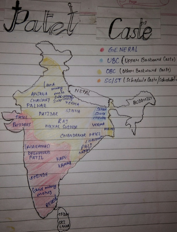 Which category is Patel caste? - Quora