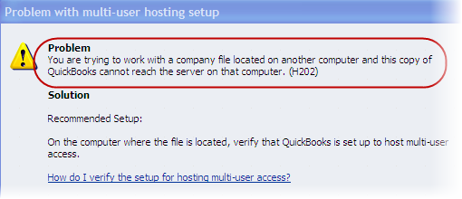 What is QuickBooks Error H202, and how do you fix it? - Quora