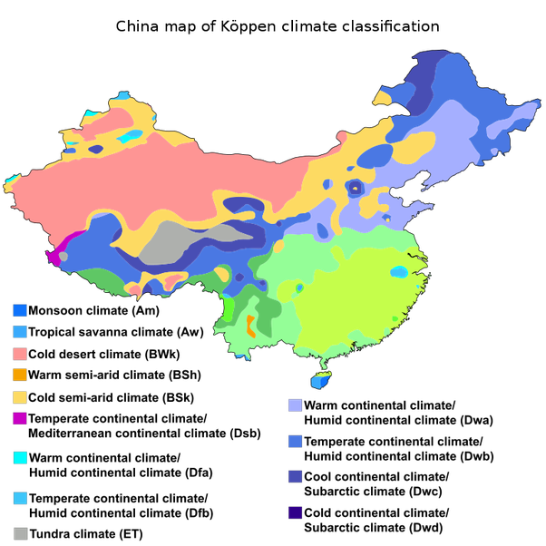 What is the climate of china quora the majority of the worlds countries do not feature one climate type because many different weather patterns landforms and climate characteristics gumiabroncs Image collections