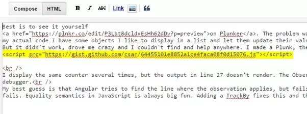 In The Pop Up Add An Optional Title And Choose Language Of Your Code Then Paste Or Type Into Text Box Favorite Theme