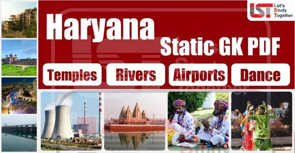 Haryana General Knowledge Book Pdf