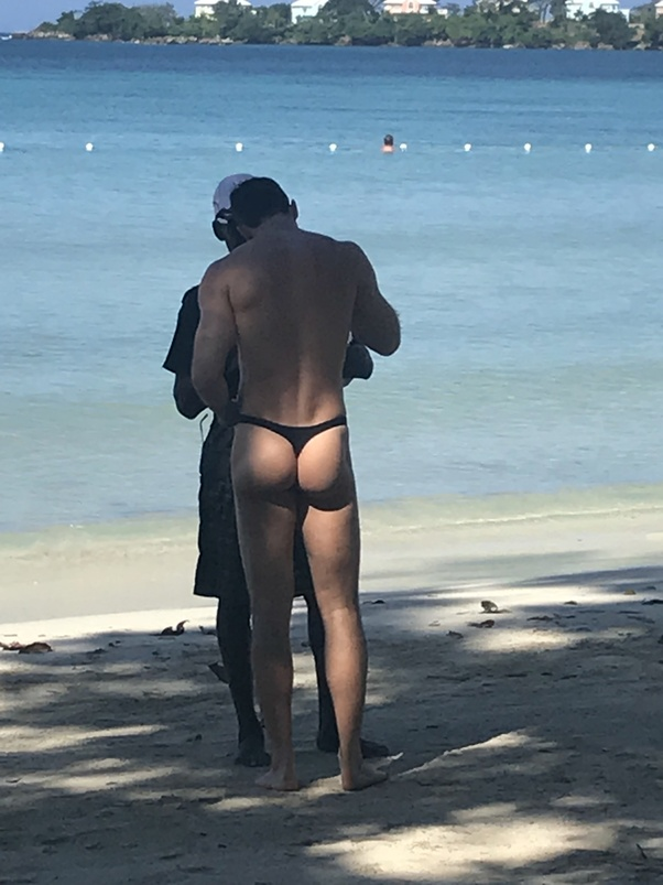 Men in panties at beach Are You A Man That Wears Brief Or Thong Swimwear To Public Beaches Or Pools In The United States Has Anyone Ever Said Anything To You For Wearing Them Quora
