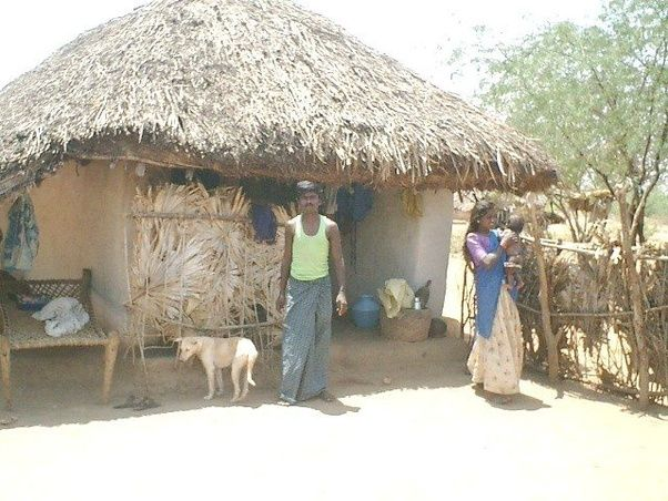 And Below Too Is An Indian Village Home Called A Hut It Low Cost