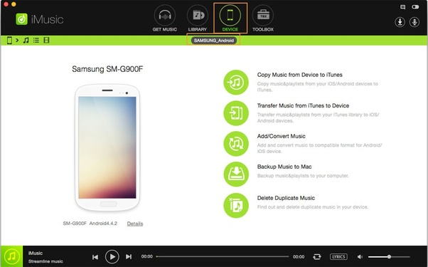 how to put itunes music onto android tablet