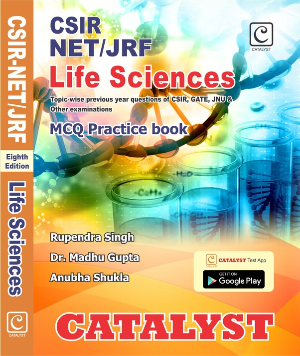 What are good books for practicing CSIR NET life science