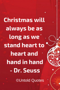 What are the best Christmas quotes and sayings? - Quora