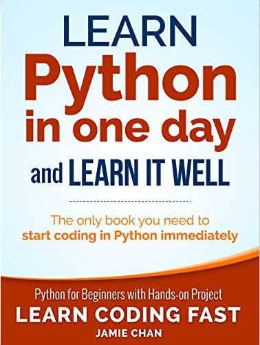 Which is the best book for learning python for absolute beginners on best python book for experienced programmers learn python in one day and learn it well fandeluxe Gallery