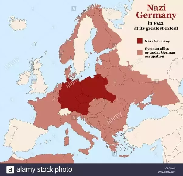 Great Britain Map Ww2