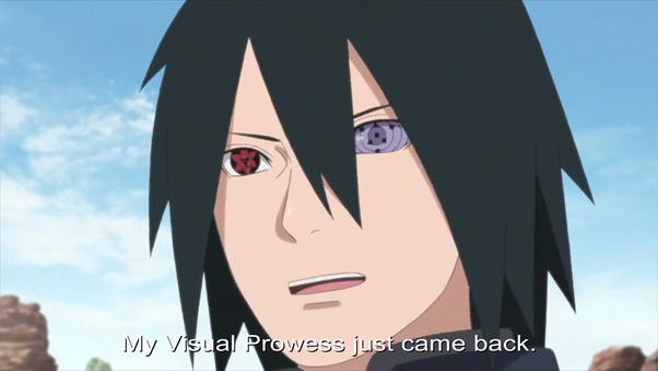 In Naruto Would Sasuke Be More Powerful If His Mangekyo