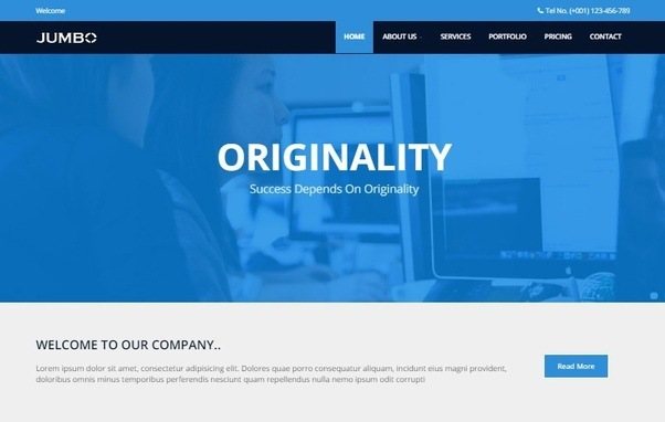 admin template archives webthemez