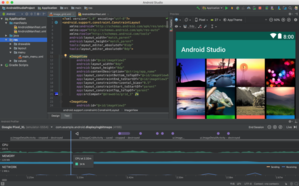 What is the difference between IntelliJ Idea and Android