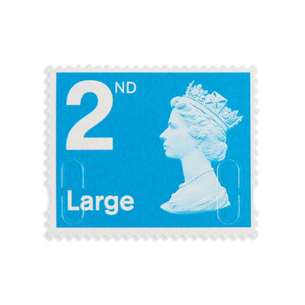 2nd Class Large Stamp In The Uk 2021