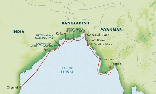 How does strategic location in close proximity to Myanmar and India