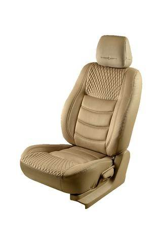 Which type of car seat cover will not produce heat when travelling ...