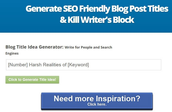 What's the best headline generator for blogs and articles