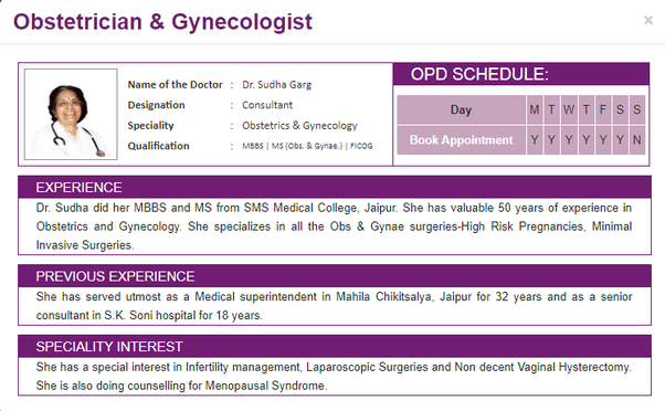 Who is the best gynecologist in Jaipur? - Quora