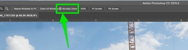How to change the photoshop cc zoom tool setting quora like other said it is scrubby zoom option you can find it on where it is shown with uploaded photo ccuart Image collections