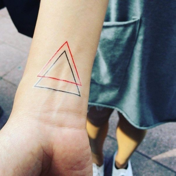 What Is The Meaning Behind The Double Triangle Symbol Quora