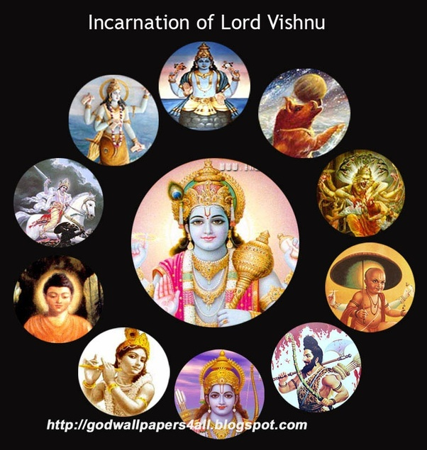 epics of india what are the actual avatars of lord vishnu