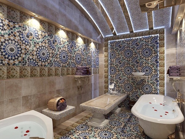 fascinating moroccan style bathroom | Is it good to have Moroccan Bath? - Quora