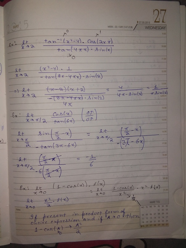 Can someone share their IITJEE notes? - Quora
