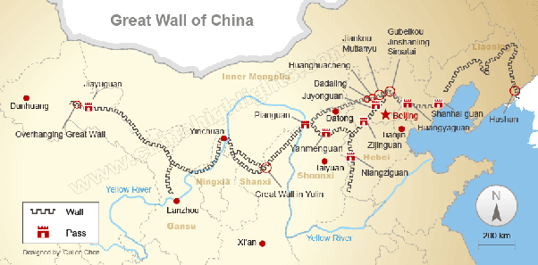 What city is the great wall of china in quora its pretty long so its not just in 1 city gumiabroncs Gallery