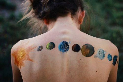 What does a tattoo of the moon phases along the spine mean for Moon phase tattoo