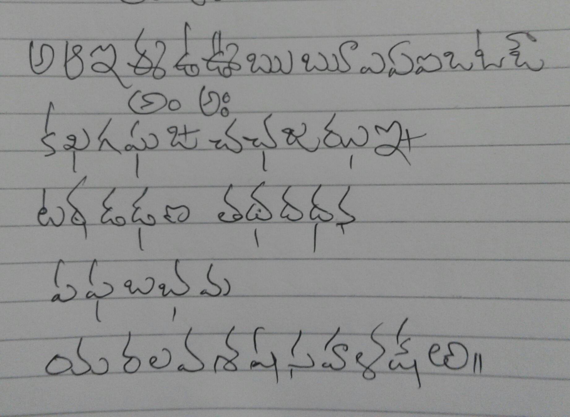 for many yearsas an employeei have been using english cursive style in drafting letters and required correspondence which affected my telugu writing