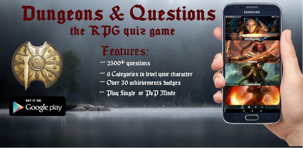 Where can I find some single-player Android quiz game with