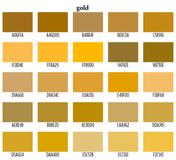 The Good News Is That There One Point Of Strong Similarity Between Peach And Gold Both Are In Orange Yellow Portion Spectrum