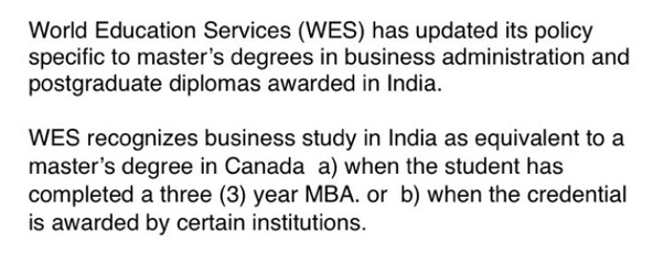 Which is better to get PR in in Canada, an MCom or an MBA