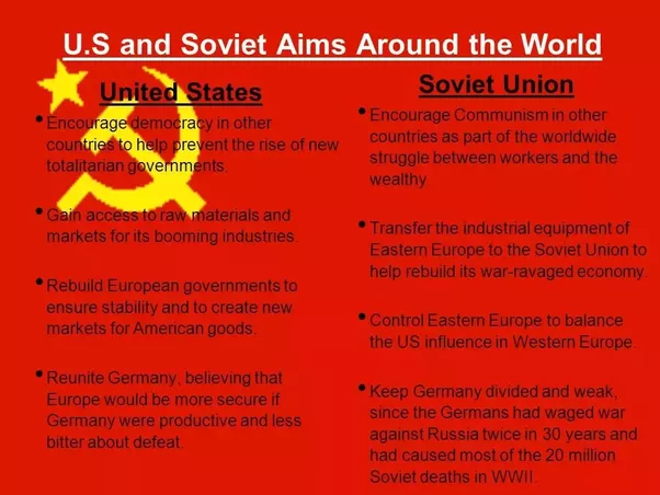 cold war us started it The cold war: crash course us history #37 crashcourse  this week we'll talk about how the cold war started in short it grew out of world war ii.