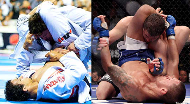 Is Brazilian Jiu Jitusu or wrestling better suited for MMA and why