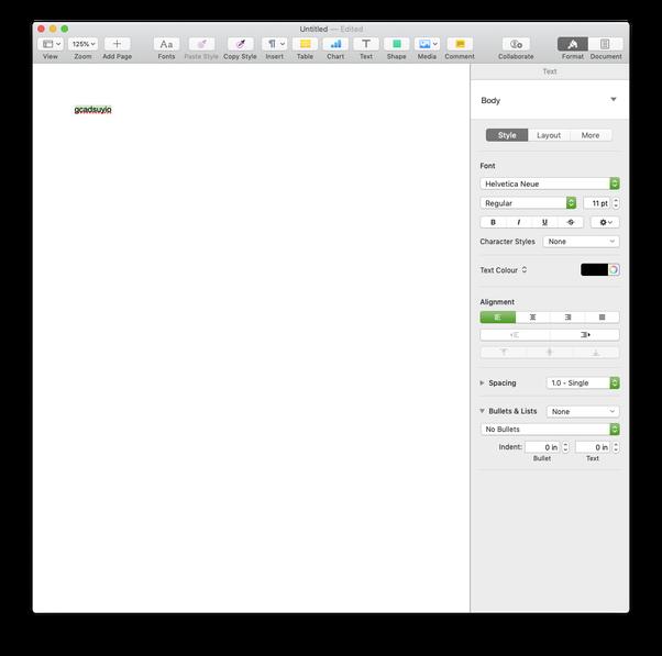How to strikethrough text in Mac OS X - Quora