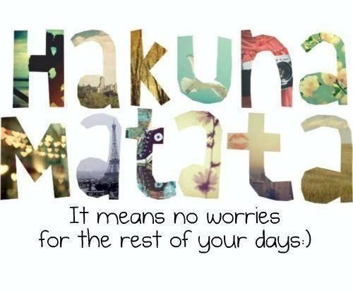 What Does Hakuna Matata Mean Quora
