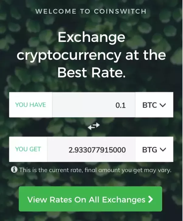 How to buy bitcoin gold btg in india quora here is the step by step tutorial which you can refer how to buy bitcoin gold btg from coinswitch coinswitch ccuart Images