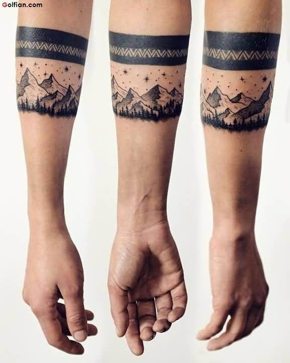 What are some nice tattoo designs for back of forearm for men? - Quora