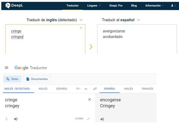 Qué Significa Cringe O Cringey En Español Ni El