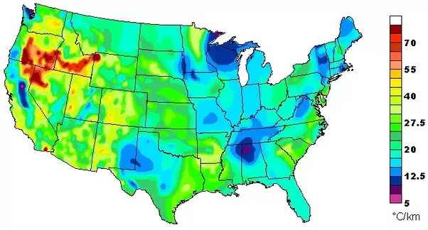 Geothermal Heating Map Us - Geothermal-map-of-the-us