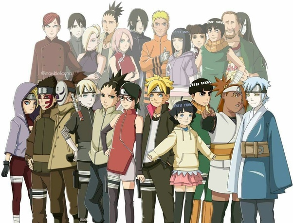 Do You Think It S Weird That Boruto S Entire Generation Is The Same Age Quora