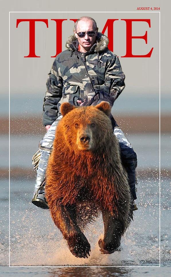 Can we ride a bear like Russia's President Putin? - Quora