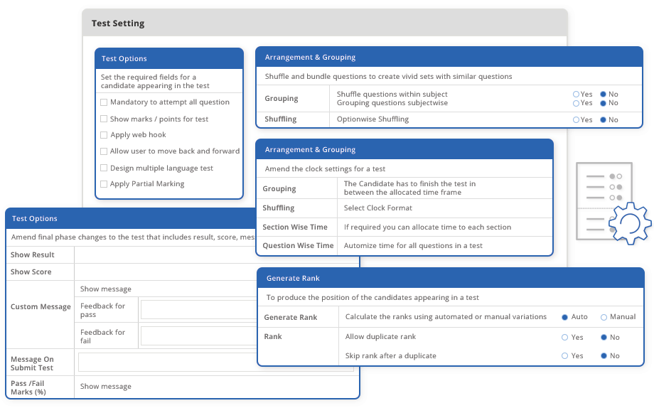 Where do I find an online assessment platform similar to