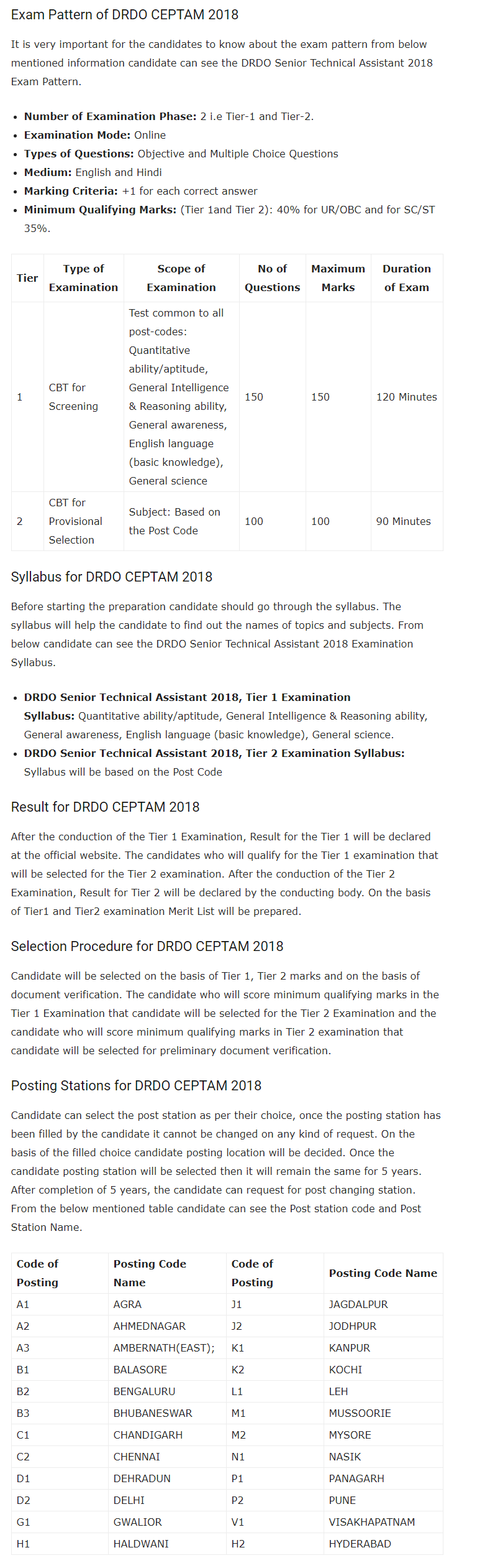 What is the syllabus of photography in the Tier 2 DRDO STA-B exam