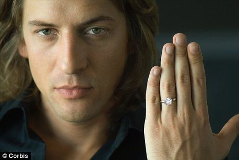 Do men wear the same weddingengagement ring as women Quora